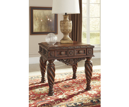 SQUARE END TABLE NORTH SHORE SIGNATURE