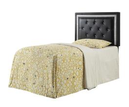 TWIN HEADBOARD (BLACK)
