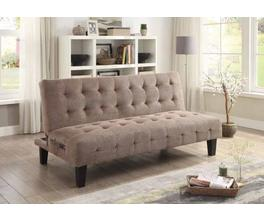 SOFA BED (TAUPE)