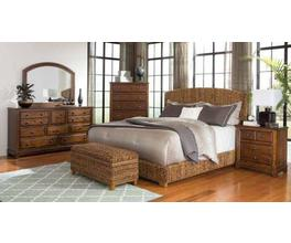QUEEN BED (NATURAL)