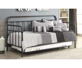 TWIN METAL DAYBED (DARK BRONZE)