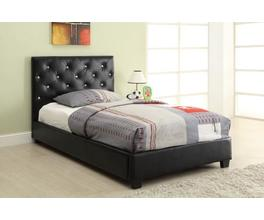 TWIN BED (BLACK)