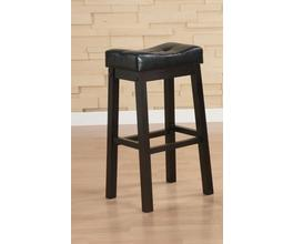 29SH BAR STOOL (BLACK/CAPPUCCINO)