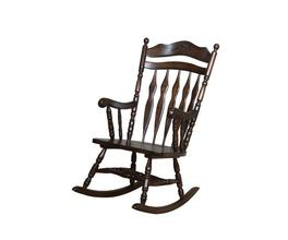 ROCKING CHAIR (MEDIUM BROWN)