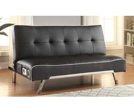 BLUETOOTH SOFA BED (BLACK/WHITE)
