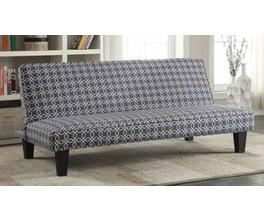 SOFA BED (NAVY BLUE)