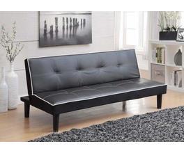 SOFA BED (BLACK/WHITE)