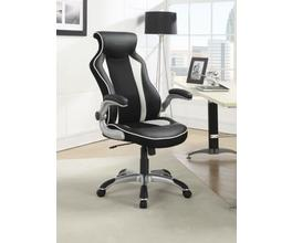 OFFICE CHAIR (BLACK/WHITE)