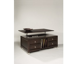 T1124 - DARIEN LIFT TOP COCKTAIL TABLEW/CASTERS