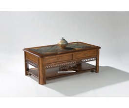 T1125 - MADISON RECTANGULAR LIFT-TOP COCKTAIL TABLE W/CASTERS