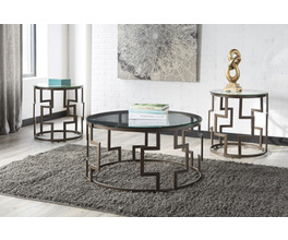 OCCASIONAL TABLE SET (3/CN) FROSTINE SIGNATURE